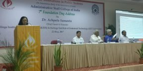 KIIT & KISS Founder Delivers Foundation Day Address at Centre for Innovations in Public Systems