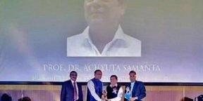 Prof. Achyuta Samanta conferred with GOPIO International Excellence Award 2017
