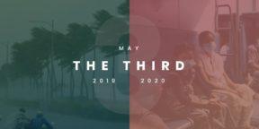 May the third: 2019 and 2020