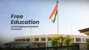 Free Education in KIIT-DU for Children of Covid Deceased in Odisha