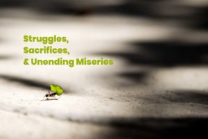 A Tale of Struggles, Sacrifices and Unending Miseries